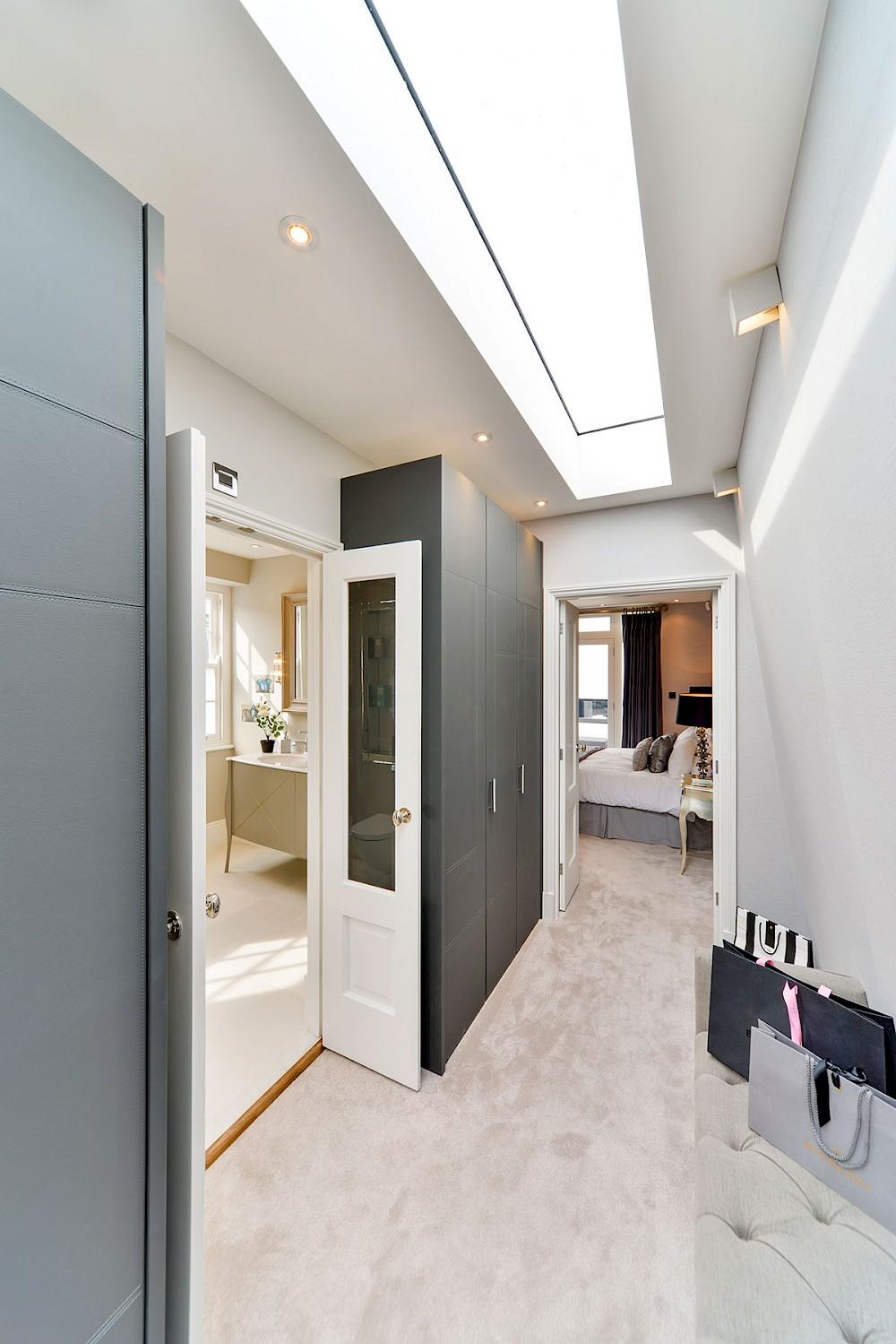 Bedroom refurbishment complete with dressing room