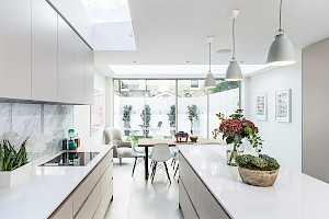 Light and airy Kitchen, Campana Road, Fulham