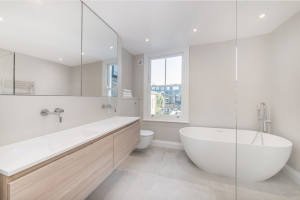 Luxury Free Standing Bath in Refurbished Family room
