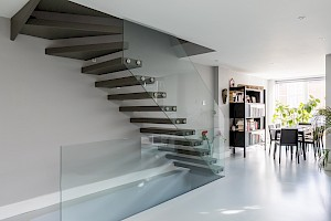 Floating Basement Staircase, Battersea London