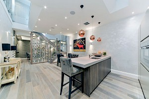 Kitchen Basement design Chelsea, London